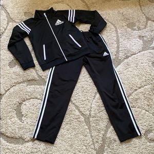 Kids S/M 10-12 ADIDAS Track Jacket & Pants Set